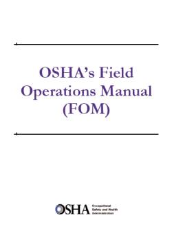 osha-field-operation-manual