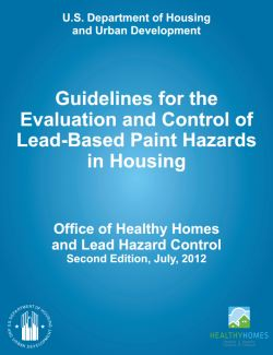 Hud releases 2012 guidelines for evaluation and control of for Lead based paint inspection