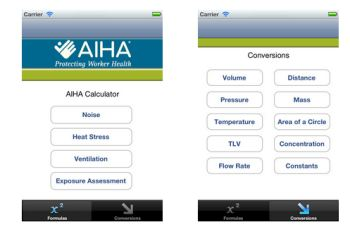 Aiha Calculator App